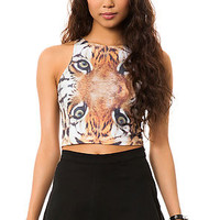 The Lioness Crop Top in Multi
