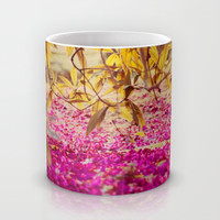 autumn pink Mug by ingz
