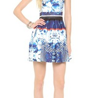 Scuba Box Pleat Dress