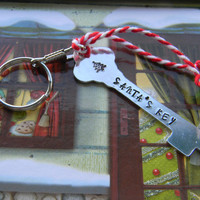 santa's key magic skeleton key ring