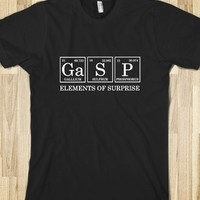 Skreened Gasp Elements Of Surprise Tee Black