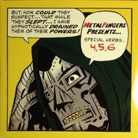 "Metal Fingers - Special Herbs 4,5,6 12"" Double Vinyl LP 2003 Inst Album MF Doom"