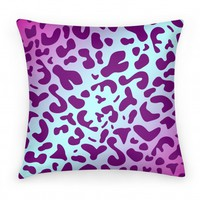 Leopard Print Pillow