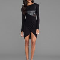 Bailey 44 Magnetic Field Dress in Black