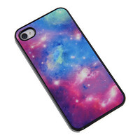 New Fashion Galaxy Space Hard Plastic Shell Case Cover for Apple iPhone 4 4S HOT