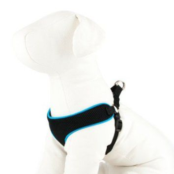 Top Paw Black Mesh Dog Harness