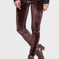 Revel In The Moment Velvet Leggings