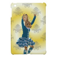 Cute rabbit dancing cover for the iPad mini