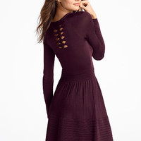 Bow-back Knit Dress - Victoria's Secret