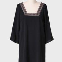 Montezuma Embellished Shift Dress