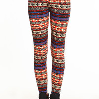 COLORFUL PRINT LEGGINGS