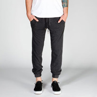 CHARLES AND A HALF Mens Distressed Jogger Pants