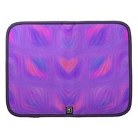 Girly Pink and Purple Abstract Folio Planners