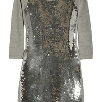 Markus Lupfer Sequined merino wool dress – 60% at THE OUTNET.COM