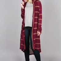 Cloaked Knit Cardigan