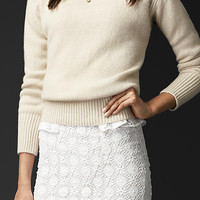 Gem-Embellished Cashmere Sweater