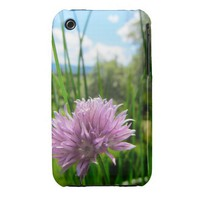 Chive Flower iPhone 3G/3GS Case