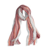 AEO EMBROIDERED STRIPE SCARF