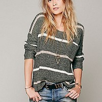 Complete In Stripes Pullover