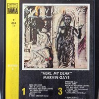 MARVIN GAYE   Here My Dear   8 track tape  1978 Motown Original