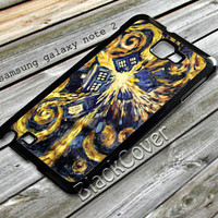doctor who exploding tardis design case for samsung galaxy note 2 from shayuti accessories
