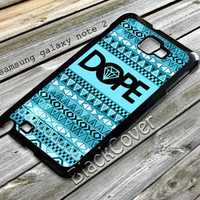 Dope Logo with chevron design case for samsung galaxy note 2 from shayuti accessories