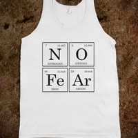 Skreened No Fear Tank Top White