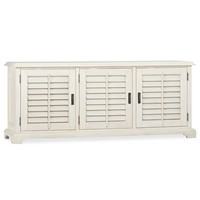 HOLSTEAD SHUTTER LARGE MEDIA CONSOLE & HUTCH