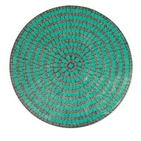 Mosaic vanity tray - Emerald Magic | NOVICA
