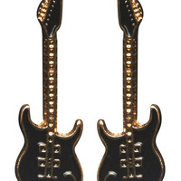 Rockstar Guitar Earring | Wet Seal