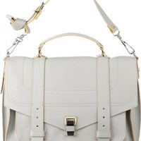 Proenza Schouler PS1 large leather satchel – 45% at THE OUTNET.COM