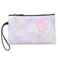 Re-Created Mirrored SQ Wristlet Purses