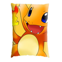 Charmander. Pillow Case Cover Custom Design. Select the option for size