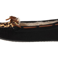 Minnetonka Leopard Cally Slipper Cinnamon Suede - Zappos.com Free Shipping BOTH Ways