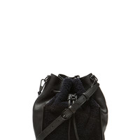 Small Scout Crossbody in Midnight & Black