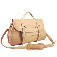 Fashion Simple Casual All-matching Buckle Vintage Preppy Crossbody Shoulder Tote