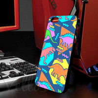 Nineties Dinosaur Pattern for iphone 4/4s case, iphone 5/5s/5c case, samsung s3 i9300 case, samsung s4 i9500 case cover in vellos