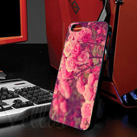 Cute Stylish Pink Roses for iphone 4/4s case, iphone 5/5s/5c case, samsung s3 i9300 case, samsung s4 i9500 case cover in vellos