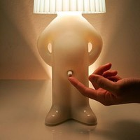 Mr P. One Man Shy Lamp