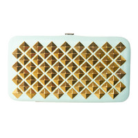 Studded Hinge Wallet | Wet Seal