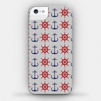 Anchor and Wheel Pattern Case