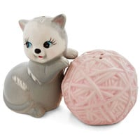 Streamline Quirky Kitten Confidential Shaker Set