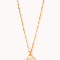 Dainty Floral Pendant Necklace