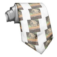 Hakuna Matata Home Sweet Home inspiration quote.jp Custom Tie