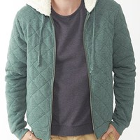 Alternative Apparel - | Product details - Duke Quilted Fleece Hoodie