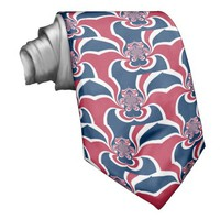 Cool Retro Vintage Hakuna Matata Gifts trendy flag Custom Tie