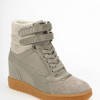Puma Clear Sky Leather Hidden Wedge High-Top Sneaker - Urban Outfitters