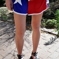 Women's Texas Flag Shorts
