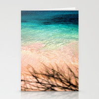 SEA AND TREE Stationery Cards by catspaws