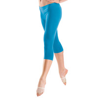 Seamless Capri-Length Nylon Leggings; Balera